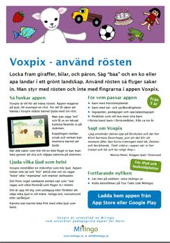 Ladda ner produktblad om Voxpix