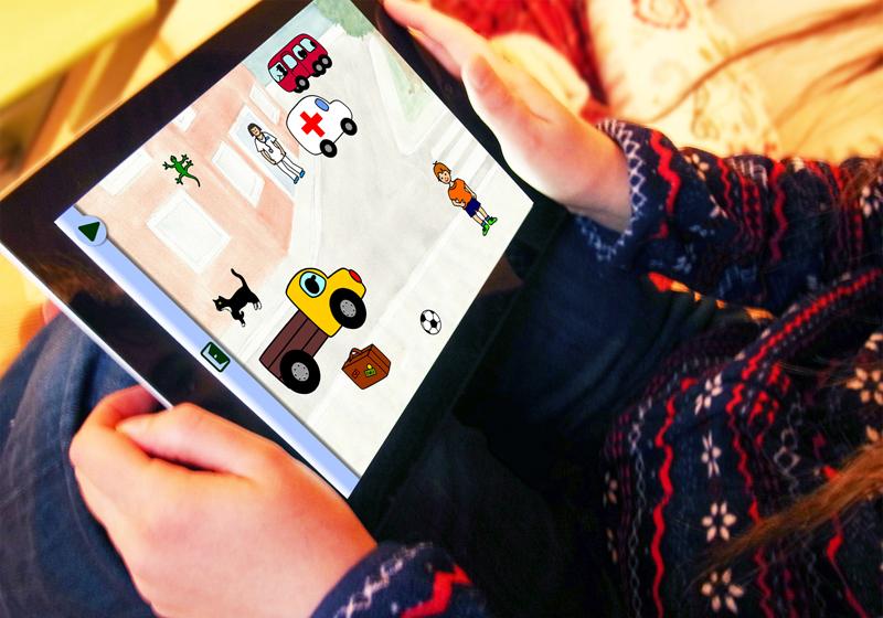 Children playing Voxpix